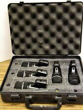 Superlux DRK-A5 5-Piece Drum Kit Microphone Set in Case