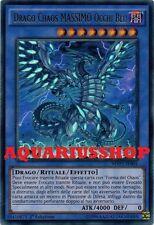 Yu-Gi-Oh Drago Chaos MASSIMO Occhi Blu MVP1-IT004 Ultra Rara ITA Seto Kaiba