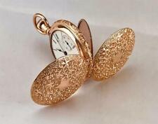 Antique 1905 ELGIN Pocket Watch in 14K GOLD FILLED ORNATE HUNTER CASE  - RUNS