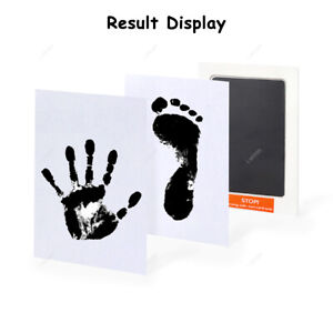 Baby Footprint Kids Handprint Ink Pads Pet Paw Print Kits for Baby Shower Gift
