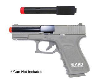 Metal Outer Barrel for KJW 19 23 32 Gas Blowback Airsoft Pistol Parts 2 pcs/set