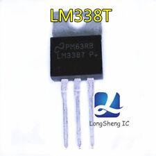 10 PCS LM338T TO-220-3 IC REG LDO ADJ 5A new