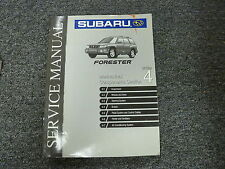 1999 Subaru Forester Section 4 Mechanical Components Shop Service Repair Manual