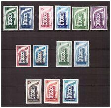 s15619) EUROPA CEPT 1956 MNH** 13v  Complete