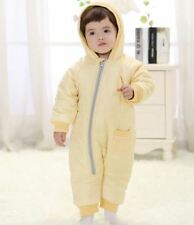 Snow Proof Baby Ski Snow Suit Quilted Infant Fleece Lined Winter Snowsuit