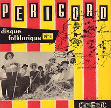 """LOU CHALEI - PERIGORD (DISQUE FOKLORIQUE 1 / VINYL EP 7"""" FRANCE)"""