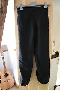 Lonsdale Black Sports / School Trousers Joggers size 8