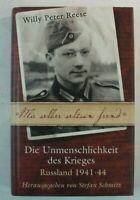 Willy Peter Reese Die Unmenschlichkeit des Krieges RM Buch 2003 Y5-592