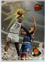 1992 92-93 Fleer Ultra Rejector Shaquille O'Neal #4, Rookie RC Insert Magic
