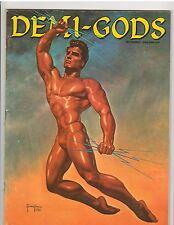 Demi Gods Bodybuilding Physique Magazine Steve Reeves/Larry Scott 9-62
