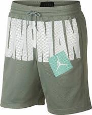 9dc001b20e78 Nike Jordan Jumpman Mesh Mica Green Men s Basketball Shorts Size 2XL