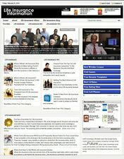 LIFE INSURANCE WEBSITE BUSINESS FOR SALE! WITH TARGETED SEO CONTENT