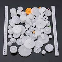 75 Type Plastic Crown Gear Single Double Reduction Worm Wheel Up Small Parts
