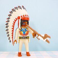 Playmobil Indian figure Indiaan figuur vredespijp figurine cowboys western