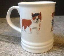 Bull Dog Ceramic Graphic Coffee Mug