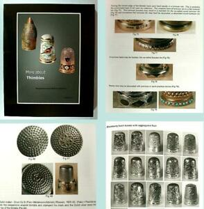 """More About Thimbles"" Reference Book Vol 1  by William & Magdalena Isbister"