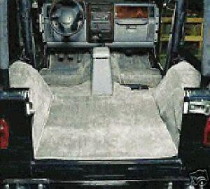 NEW Jeep CJ 76-86 Deluxe Carpet Kit