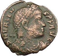 "VALENS ""Last True Roman"" 367AD Ancient Roman Coin Victory Cult  Angel  i39408"