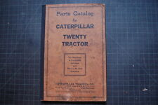 CAT Caterpillar TWENTY 20 Tractor Dozer Crawler Parts Manual Book catalog spare