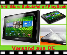 3 x ANTIREFLEX f. Black Berry PlayBook Schutz Folie matt ANTI FINGERPRINT Glare