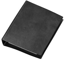 3xBlätter kariert Ringbuch Din A6 schwarz 4 Ringe Ringordner incl
