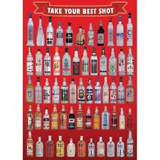 Take your best Shot Liquor bottles Poster Print P563783