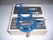 """0"""" to4"""" OUTSIDE MICROMETER SET """"NEW"""""""
