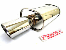 APEXI WS2 UNIVERSAL EXHAUST MUFFLER TURBO 80mm/115mm