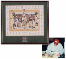 Brett Favre Signed Autographed Green Bay Packers Super Bowl XXXI Canvas Print