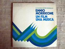 Ennio Morricone Un Film Una Musica - Le Colonne Sonore Originali- 2 LP Gatefold