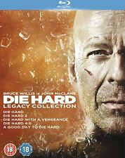 Die Hard Legacy Collection (Die Hard 1-5) - UK Region B Blu Ray
