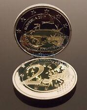 2 Euro Gedenkmünze Slowenien Slovenia 2017 PP 10. Jahrestag Euroeinführung UNC
