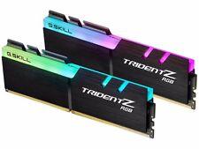 G.SKILL TridentZ RGB Series 16GB (2 x 8GB) DDR4 3200F4-3200C16D-16GTZR