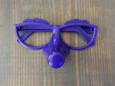 Fibber Card And Pieces Game Replacement Parts Only Purple Glasses