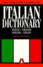 The Concise Cambridge Italian Dictionary (Reference Books)-ExLibrary