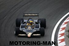 Ronnie Peterson Lotus 79 Fotografía Foto 1978