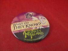 Tales of Monkey Island Monkeys Employee Promotional Button Pin Promo Pinback