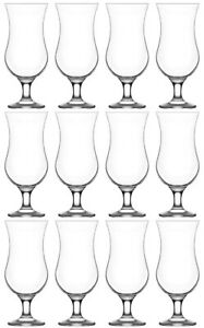 Large Cocktail Drinking Glasses. Pina Colada Glass. (Set of 12)  460 ml