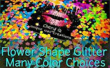 Flower Glitter~Many Colors~Nail Art•Acrylic•Gel•Bod y Art•Face•Festival•C rafts