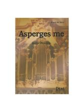Miguel del Barco Asperges Me para Órgano Learn to Play MUSIC BOOK Organ