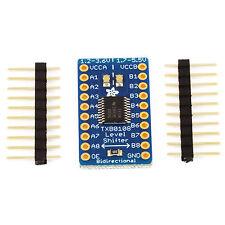 Adafruit 8 canaux Bidirectionnel Convertisseur de niveau logique 3,3 V 5V # 395 txb0108