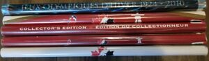 5 Vancouver 2010 Olympic Poster SET of FIVE - Ice Hockey & RARE Foil Poster!