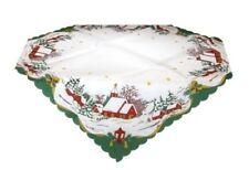 Markenlose weihnachtliche Tischdekorationen aus Polyester Stern-Schliffform