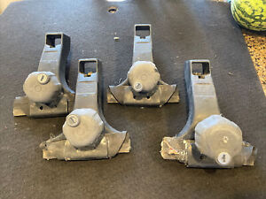 THULE VINTAGE RAINGUTTER TOWERS FOOT PACK - SET OF FOUR FROM CALIFORNIA