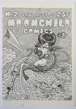 Moonchild Comics 2 1969 San Francisco Comic Book Company