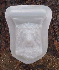 Plaster casting mould  concrete lion mold  plastic mold lion sconce mold