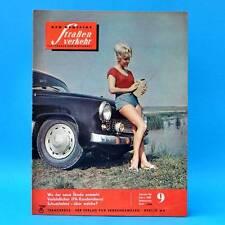 Der Deutsche Straßenverkehr 9/1964 DDR Skoda 1000 MB Sachsenring Formel 3 MZ D