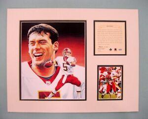 Washington Redskins Heath Shuler 1995 Football 11x14 MATTED Kelly Russell Print