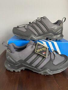 adidas Mens Terrex Swift R2 GORE-TEX UK 8.5 Walking Shoes Black Brand New