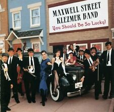 You Should Be So Lucky - Maxwell St. Klezmer Band (1996, CD NIEUW)